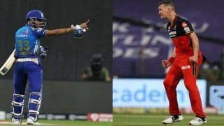 IPL, MI vs RCB: Hardik Pandya-Chris Morris Verbal Duel in Abu Dhabi | WATCH VIDEO